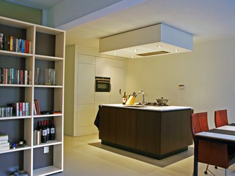 Het gerealiseerde appartement in Maastricht