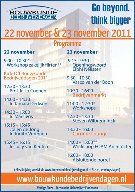 FOAM @ Bouwkunde Bedrijvendagen