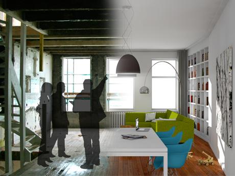 De mogelijkheden van een woning in beeld gebracht