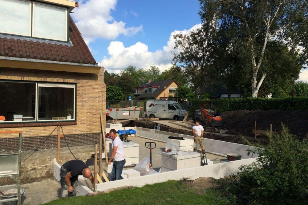 Werkzaamheden aanbouw Nieuwegein gestart