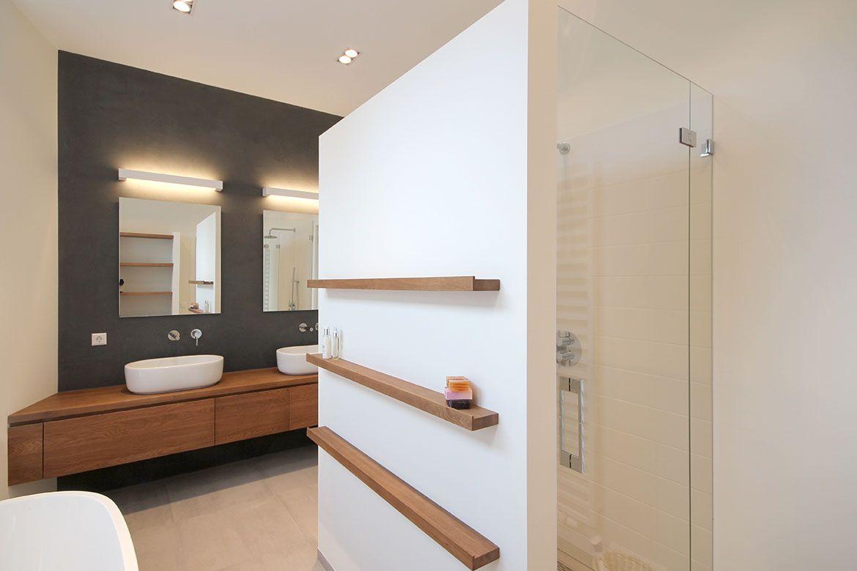 Foam architecten bna badkamer rotterdam - Eigentijdse badkamerkast ...
