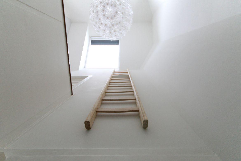 Foam architecten bna zolder voorburg - Trap toegang tot zolder ...