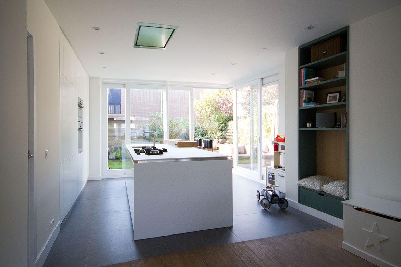 Kleine Aanbouw Keuken : FOAM architecten BNA Woning Tuindorp