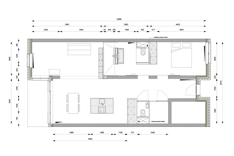 Plattegrond Keuken Met Kookeiland : FOAM architecten BNA Woning Bouw