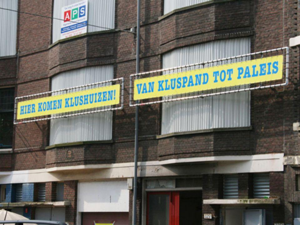 Onderweg in Rotterdam