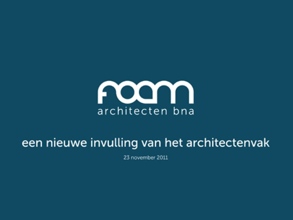 Een nieuwe invulling van het architectenvak