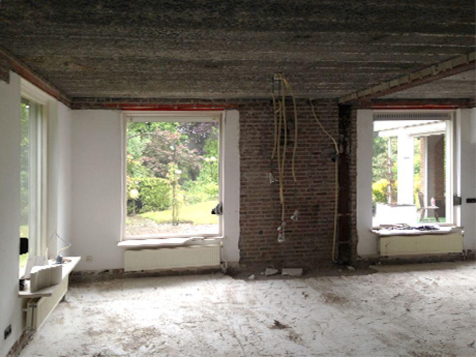 Verbouwing villa Valkenswaard van start